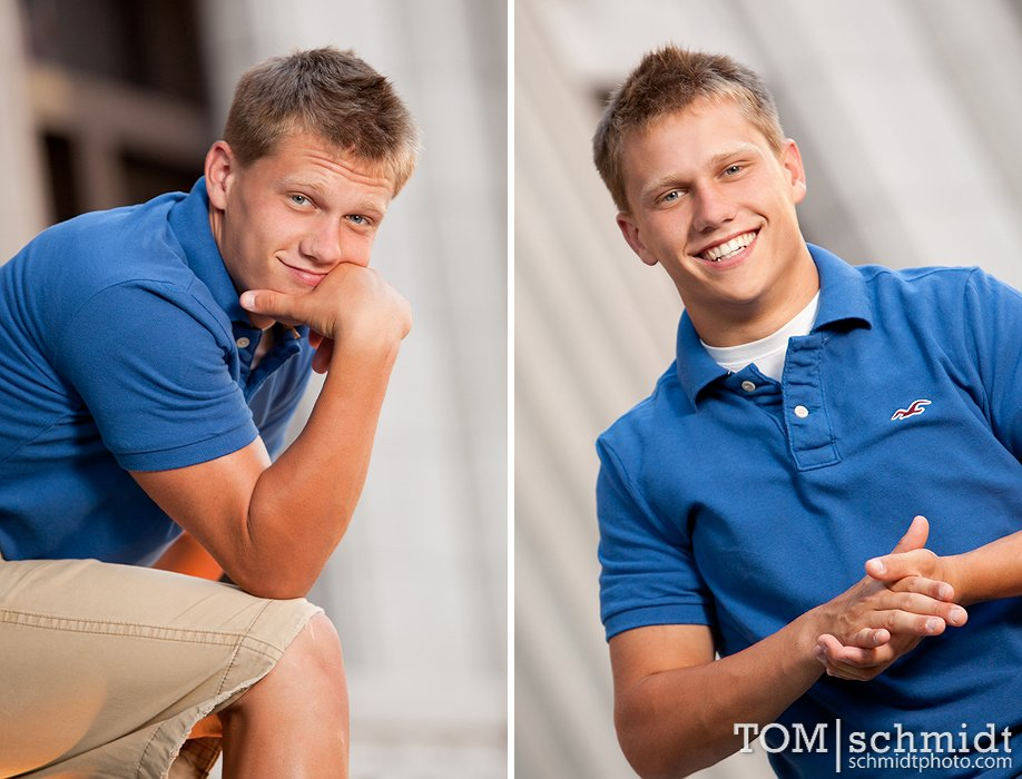 Outdoor Senior Shoot - On Location Portraits