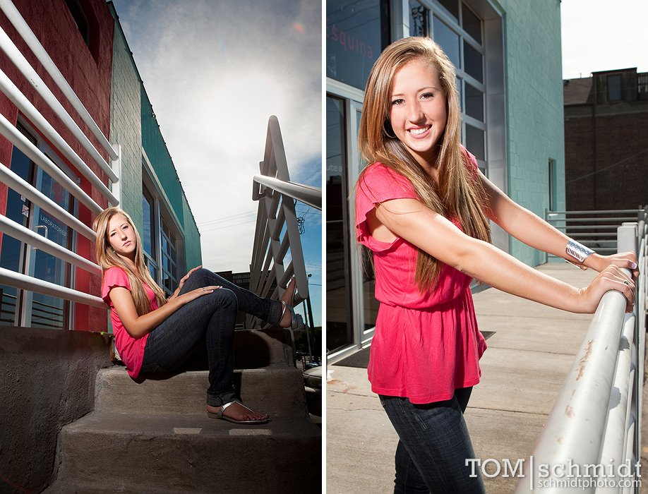 TS, Exciting Senior Photos, Downtown Kansas City