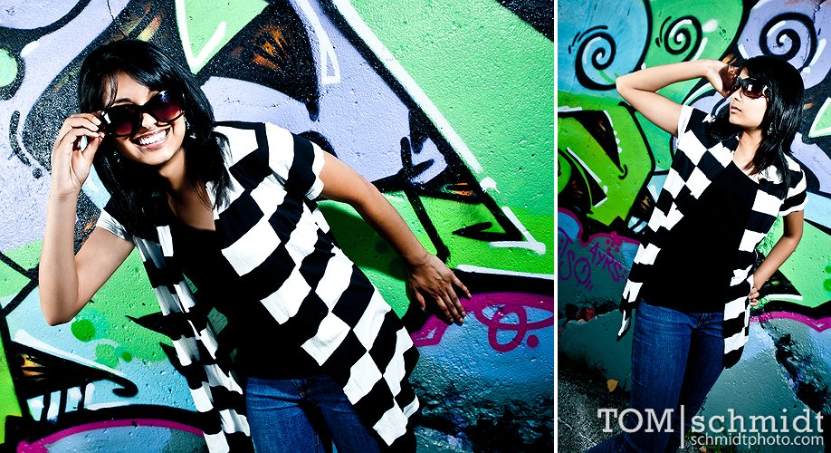 Funky Senior Photos, Tom Schmidt, Kansas City Missouri
