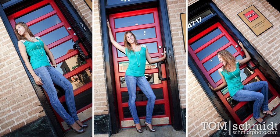 High School Senior Shoots with TS - Downtown Kansas City