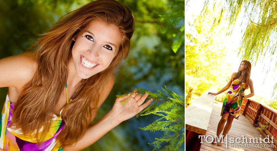 Fun Senior Picture Poses - Iowa Photographer