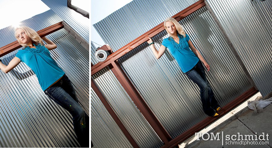 Fashion Inspired Senior Pictures - Kansas City Photographer