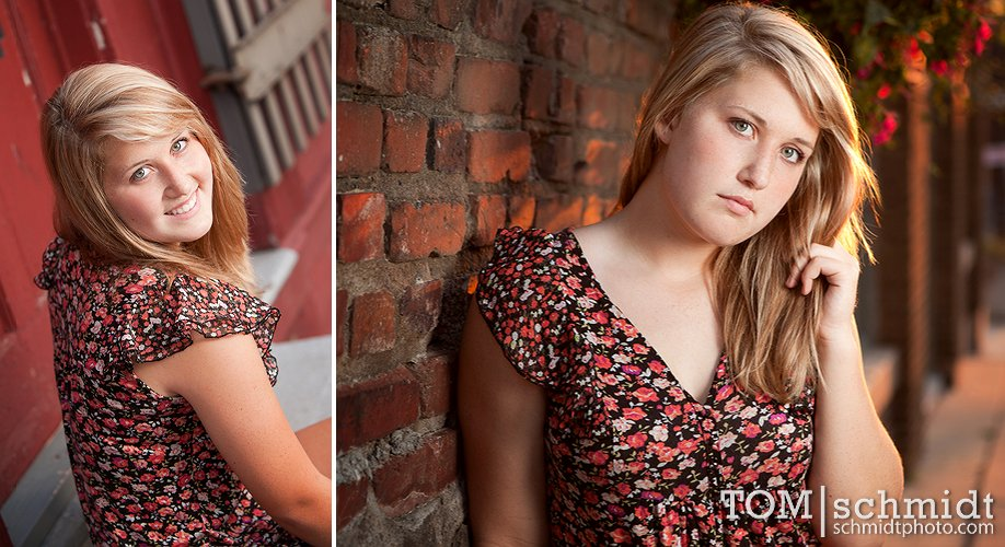 West Side Location Portraits in Kansas City - Best Senior Portraits