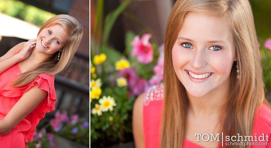 Outdoor Senior Pictures - Senior Portrait Ideas - Tom Schmidt