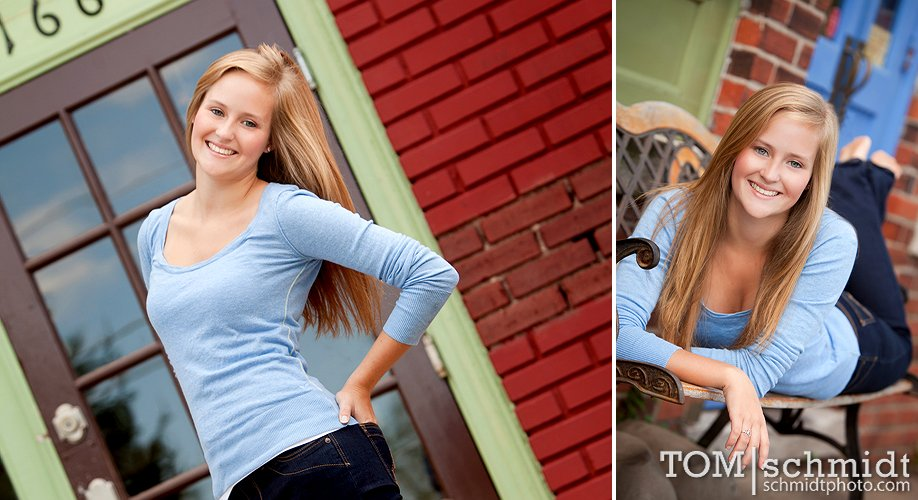 Kansas City Senior Portrait Shoots - Tom Schmidt - Ideas for Senior Pictures