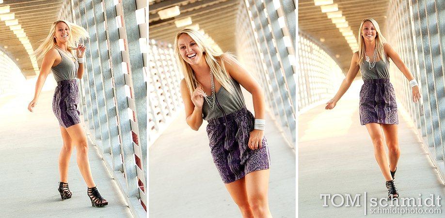 Funky Portraits - Kansas City Photographer - Maryville High School
