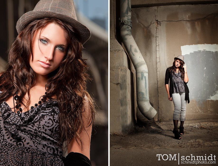 Grafitti Senior Portraits - Tom Schmidt Photo - Best Photographer in Missouri