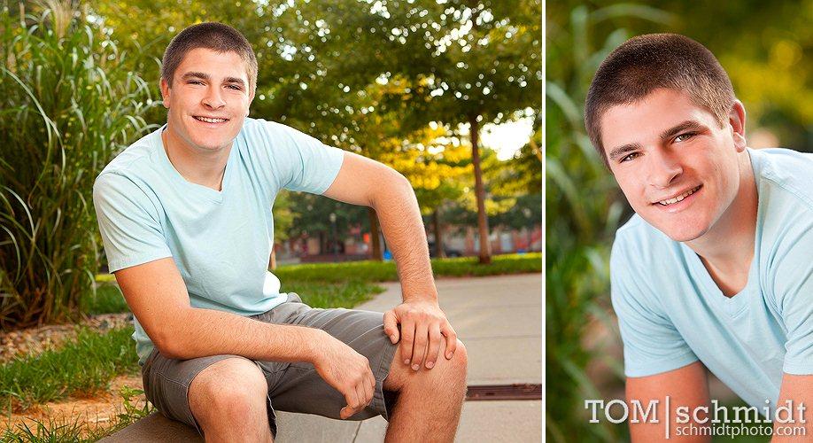 KC Photographer - Male Senior Portrait Poses