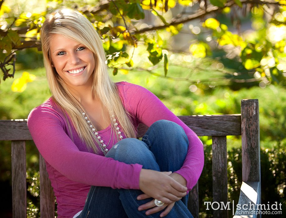 Loose Park Pictures KC - Senior Shoot - Liberty High School