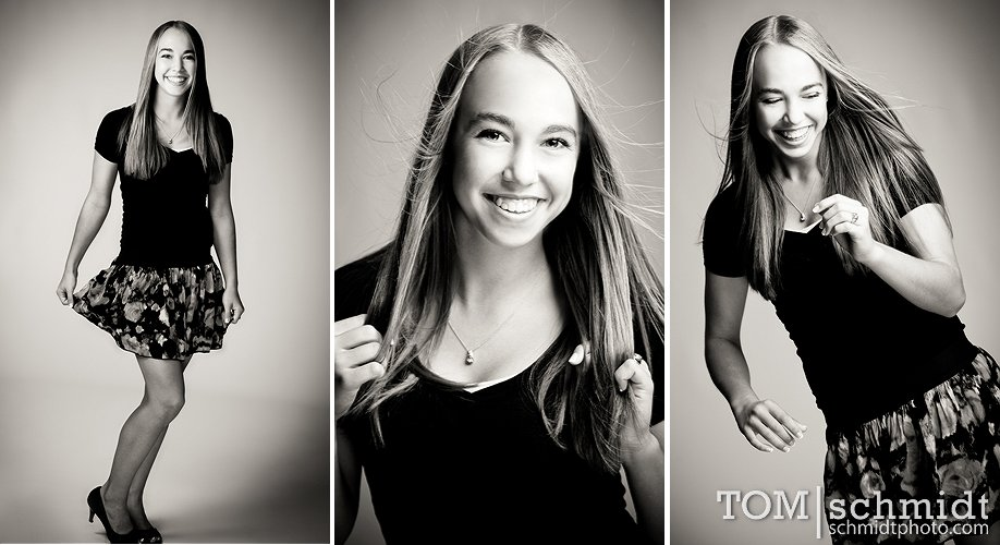 Studio Portraits By Tom Schmidt - Fashion Inspired High School Pictures