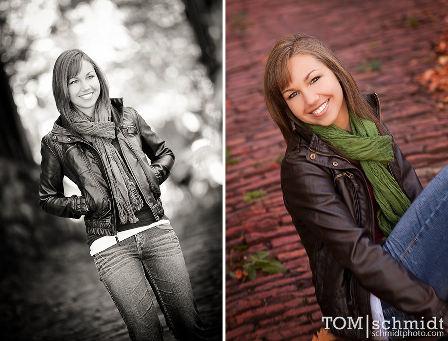 Outdoor Senior Pictures - Tom Schmidt Photo - Downtown KC