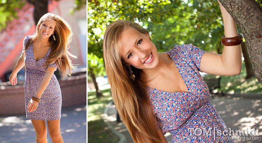 TS, Exciting Senior Photos, Downtown Kansas City