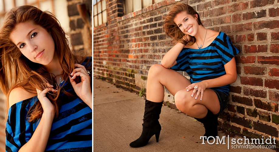 Outdoor Senior Picture Ideas - Portrait Photographer TS