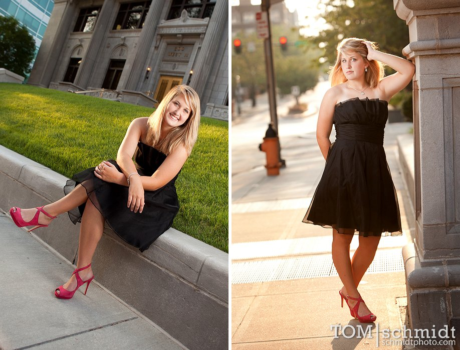 High School Senior Picture Ideas - Senior Portrait Frame - Lees Summit High School