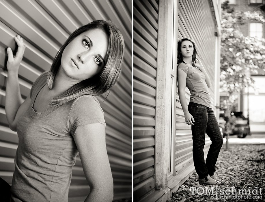 glamor pictures - Funky senior portraits - look hot