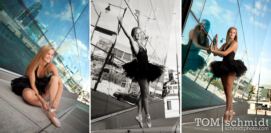 Downtown KC - Senior Picture Samples - Best Portrait Photographer