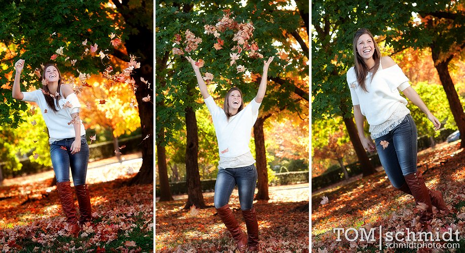 Lawrence Kansas High School Portraits - Outdoor Senior Picture Ideas