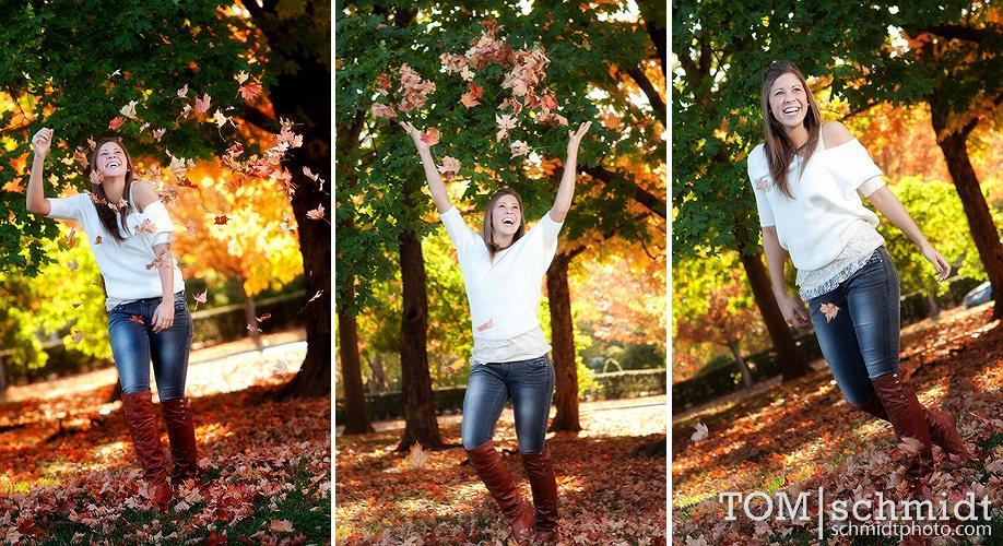 Lawrence Kansas High School Portraits - Outdoor Senior Picture Ideas