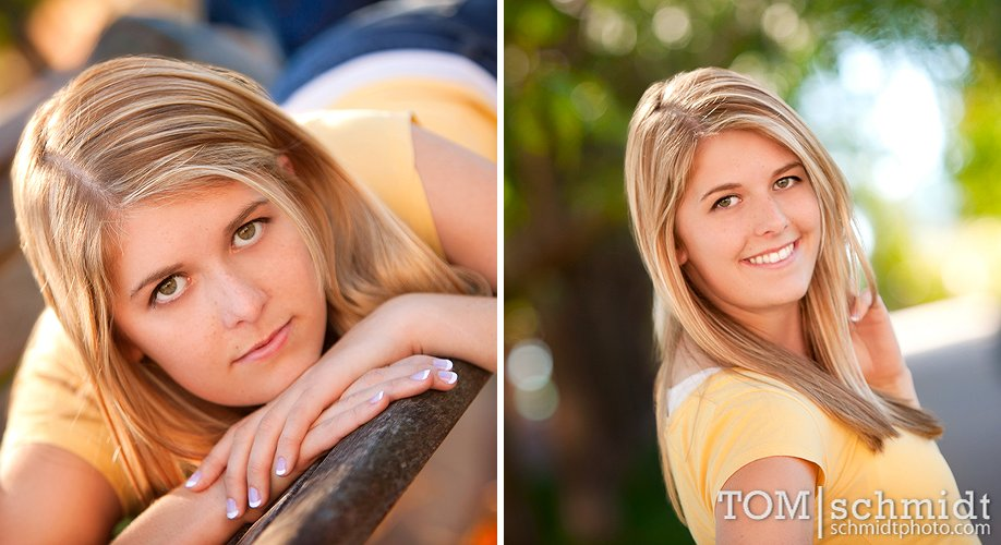 Creative Senior Portraits - Kansas City Photographer - City Market KC
