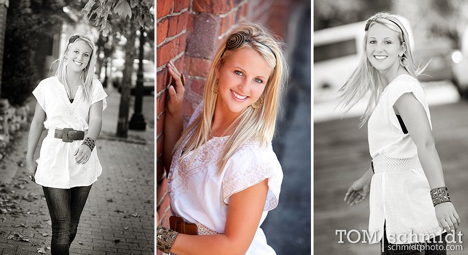 Unique Senior Portraits - TS Photo - KC Photographer