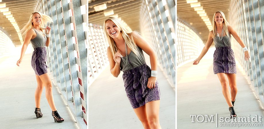 Funky Portraits - Kansas City Photographer - Maryville High School