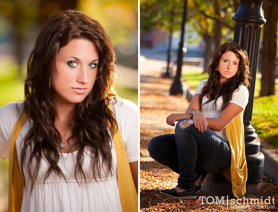 Edgy Senior Portraits - TS Photography - Outdoor Photographs