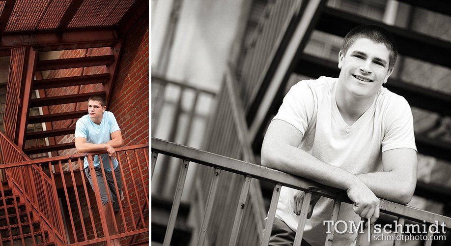 Male Senior Photo Ideas - Kansas City, Missouri Photographer