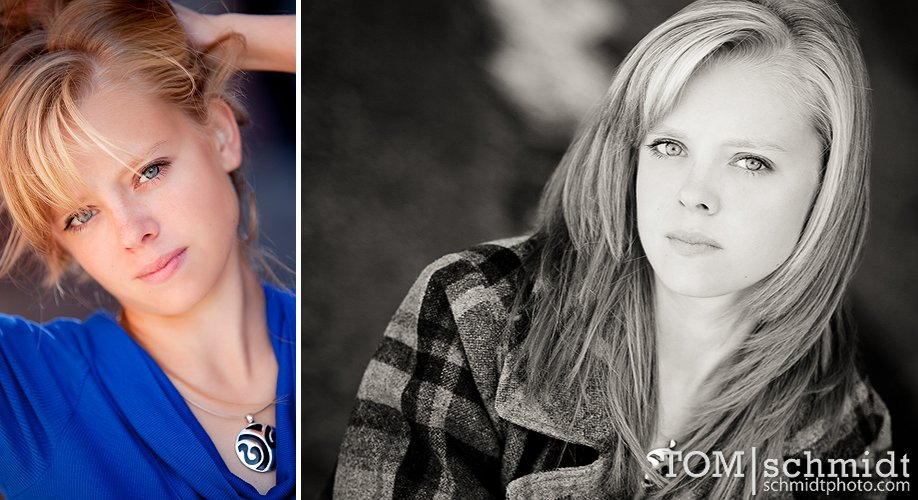 Studio Senior Portrait Ideas - Beauty Portraits - Poses for Senior Girls