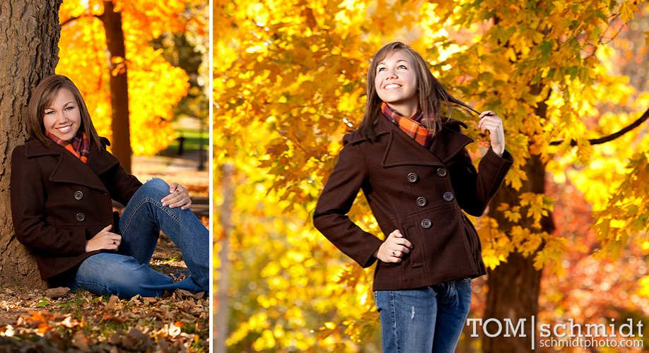 Fall Outdoor Senior Portraits - senior picture gallery - Senior Photoblog