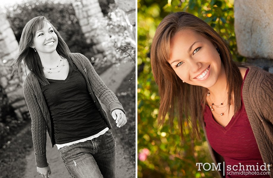 Outdoor Senior Pictures - TS Photo - Downtown KC